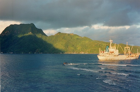 Rainmaker Mountain in American Samoa--ain't it a beaut?